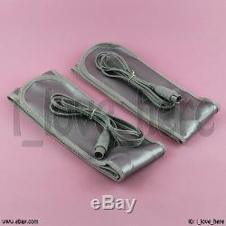 LCD Ionic Cleanse Pro Dual Unit Detox Aqua Foot Bath Spa Set 5 Modes 2 Fir Belts