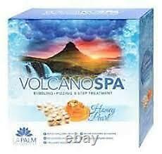 La Palm Volcano Spa Pedicure 5 Steps Foot Pedicure Spa Bath Scented Bubble Fizz