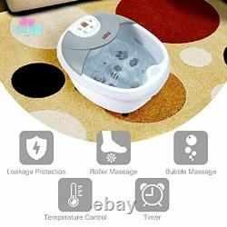 Large Foot Spa Bath Massager with Heat Digital Temperature Control LED Display