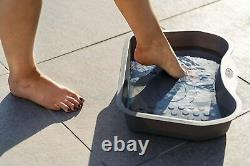 Lay-Z-Spa Care & Maintenance Bundle Pool Leaf Skimmer and Foot Bath Fit All Feet