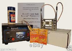 Max Detox Ion Aqua Cleanse Ionic BEFE Foot Spa Bath Machine MADE IN USA