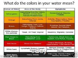 Max Detox Practitioner Ion Ionic Aqua Chi Detox Cleanse Foot Bath Spa 2 ARRAYS