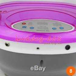 NEW ION IONIC DETOX FOOT Bath SPA AQUA CLEANSE With Massage TUB + ARRAYS GIFT