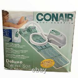 New Conair Body Benefits Deluxe Thermal Spa Cushion Bath Mat Remote Control