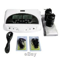 New Dual User Foot Bath Spa Machine Ionic Detox Cell Cleanse Machine Colored LCD