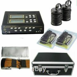 New Dual User Foot Bath Spa Machine Ionic Detox Cell Cleanse withLCD+5 Modes+Belts