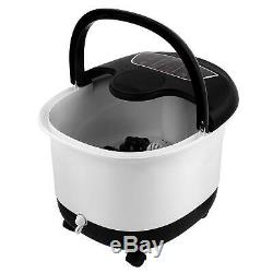 New Foot Spa Bath Massager Automatic Rollers Heating Soaker Bucket 500W