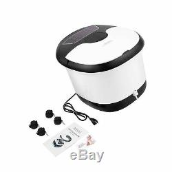 OUTCAMER Foot Spa Bath Massager with Heater, Foot Massage and Bubble Jets, Mo