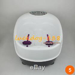 Panel Control Ion Ionic Detox Foot Bath Spa Aqua Cleanse + Massager Tub 2 Arrays