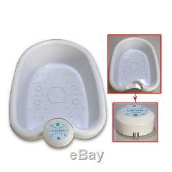 Personal Ionic Detox Foot Basin Bath Spa Cleanse Machine Array Health Care