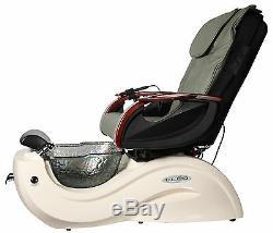 Pipeless Foot Tub Pedicure Pedi Chair CLEO GX GAX Spa Equipment Glass Bowl