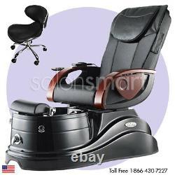 Pipeless Pedicure Salon Equipment Pedi Chair Unit Foot Tub Pacific AX Massage