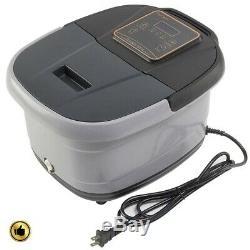 Portable Foot Spa Bath Massager Heat Massage Machine Heated Rolling Relax Water