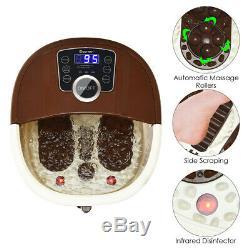 Portable Foot Spa Bath Motorized Massager Electric Feet Salon Tub