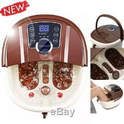 Portable Foot Spa Bath Motorized Massager Electric Feet Salon Tub Home