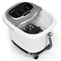 Portable Foot Spa Bath Motorized Massager Electric Feet Salon Tub Home Gray