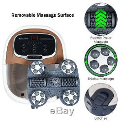 Portable Foot Spa Bath Motorized Massager Electric Feet Salon Tub with Shower