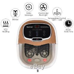 Portable Foot Spa Bath Motorized Massager Home Electric Feet Tub with Shower