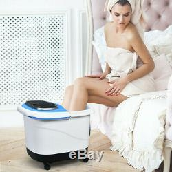 Portable Foot Spa Bath Motorized Massager with Shower