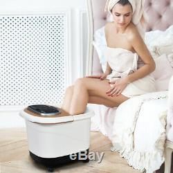 Portable Foot Spa Bath Salon Motorized Massager Electric Tub with Shower