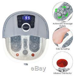 Portable Multi-function Electric Foot Spa Bath Shiatsu Roller Motorized Massager