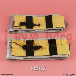 Premium Dual Ionic Detox Foot Bath Cell Cleanse Spa Machine 5 Modes 2 Fir Belts