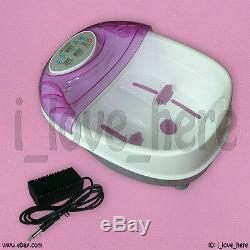 Premium Ionic Ion Detox Foot Bath Spa Cell Cleanse Tub 4 Modes Health Life CE