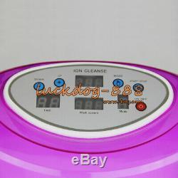 Premium Tub Detox Ionic Ion Foot Bath Cell Aqua Cleanse Spa Basin Tub 4 Arrays