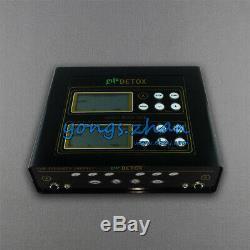 Pro Dual LCD Ionic Cell Cleanse Detox Aqua Foot Bath Spa Set 5 Modes 2 Fir Belts