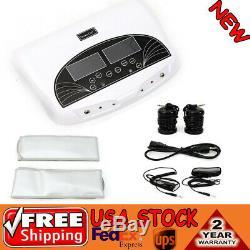 Professional Dual LCD Ionic Detox Foot Bath Spa Machine 2 Far Belts 5 Model US