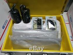 Professional Dual LCD Ionic Detox Foot Bath & Spa Machine w Case 2020 Model NEW