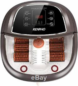 RENPHO Foot Spa Bath Massager with Fast Heating, Automatic Massage, Powerful Bub