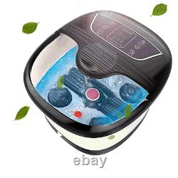 Rollers Foot Spa Bath Massager With Deep Heating Soaker Bucket Digital Display US