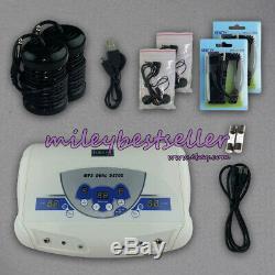 Sale Dual User Ionic Foot Bath Spa Detox Cell Cleanse Machine MP3 + 2 Arrays CE