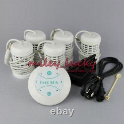 Simple Detox Foot Spa Ionic Aqua Foot Bath Spa Cell Cleanse Set 1 Year Warranty