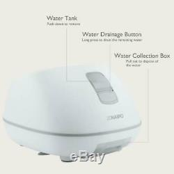 Steam Foot Bath/Spa Massager Foot Sauna Tub with 3 Heat Levels and 2 Adjustable