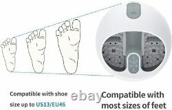 Steam Foot Spa Bath Massager, Foot Sauna Care withFast Heating, No Water Pouring