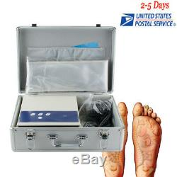 USAProfessional Ion Cell Ionic Detox Foot Bath Spa Chi Cleanse Machine Beauty