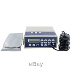 USA Professional Ion Cell Ionic Detox Foot Bath Spa Chi Cleanse Machine + Case