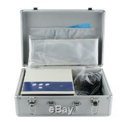 USA! Top Detox Cell Ion Ionic Aqua Foot Bath SPA Cleanse Machine Fir Belt Box