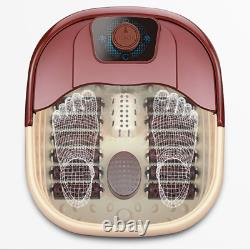 US 110V 500W Foot Bath Bucket Electric Foot Spa Massager Roller Scrapping TCM He
