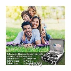 Vitaciti Dual Ionic Detox Foot Bath Machine Digital LCD Display Spa Chi Clean