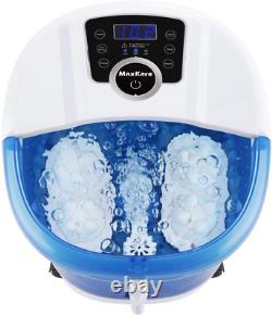 Warm Water FB3 Foot Bath Spa Tub Acupressure Messager Heat Vibrating Portable