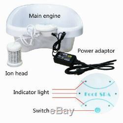 110-220 Ionique Ion Detox Bain De Pieds Nettoyer Cellulaire Spa Set Machine Avec Baignoire 1