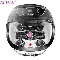 2020 New Foot Spa Bain De Massage Automatique Massage Rollers Chauffage Soaker Bucket