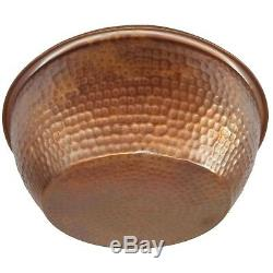 2 Cuivre Rustique Pied Rub Tremper Bain De Lavage Massage Balnéothérapie Bowls Pédicure