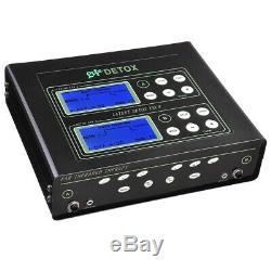 5 Mode Double Bain De Pieds Utilisateur Spa Ionique Machine De Désintoxication Cellulaire Nettoyer La Machine-outil LCD