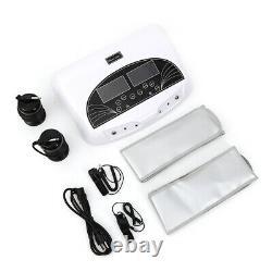 5mode LCD Pro Dual Ion Detox Ionic Foot Bath Spa Clean Machine Infrarouge Belt Nouveau
