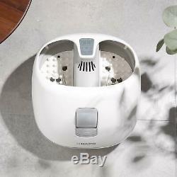 À Vapeur Massage Bain De Pieds / Spa Pied Sauna Baignoire Avec 3 Niveaux De Chaleur Et 2 Adjustab