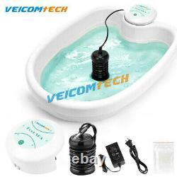 Accueil Ionic Detox Foot Basin Bain Spa Cleanse Machine Relax Refraîchir Liners Pour Le Corps
